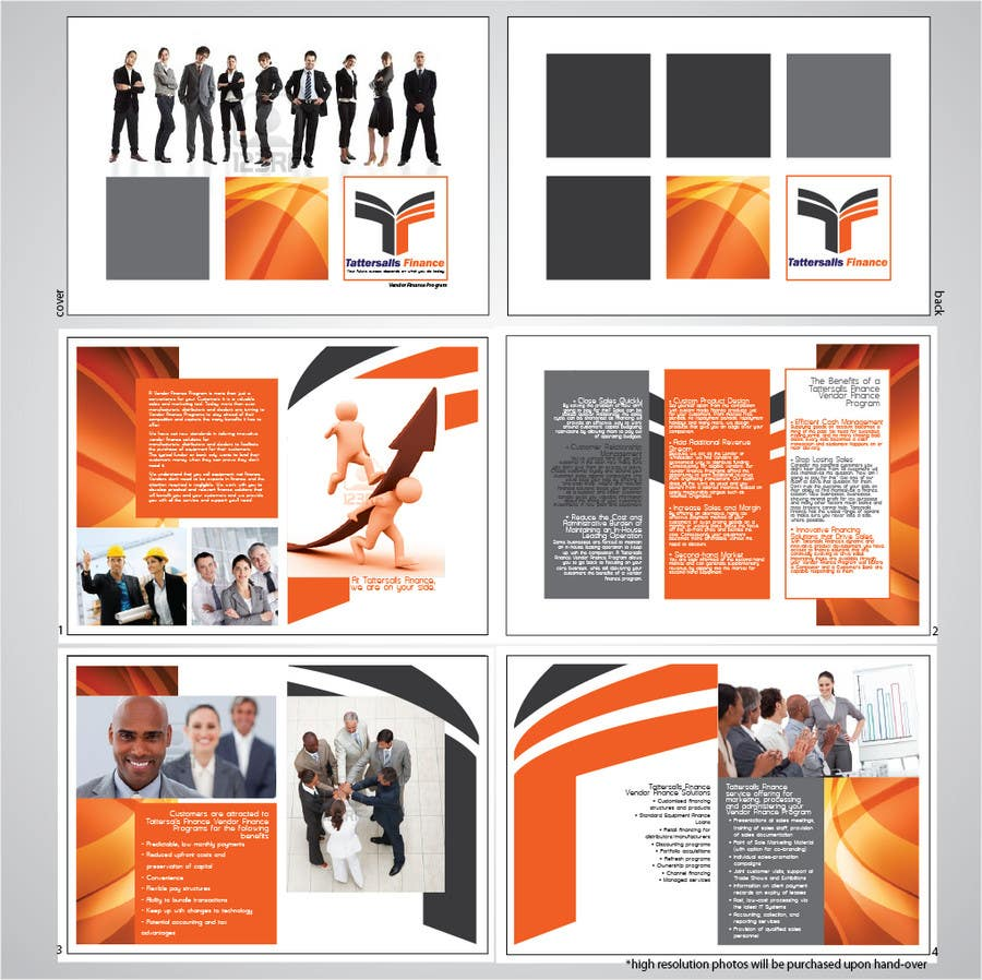 Inscrição nº                                         14                                      do Concurso para                                         Brochure Design for Finance HQ