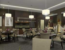 #50 for 3d Rendering Hotel suite +Hotel restaurant by zeldom