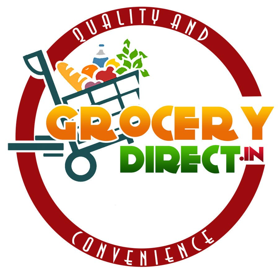 Contest Entry #                                        38                                      for                                         Design a Logo for Online Grocery Store