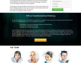 #11 for Creating of a landingpage by webidea12