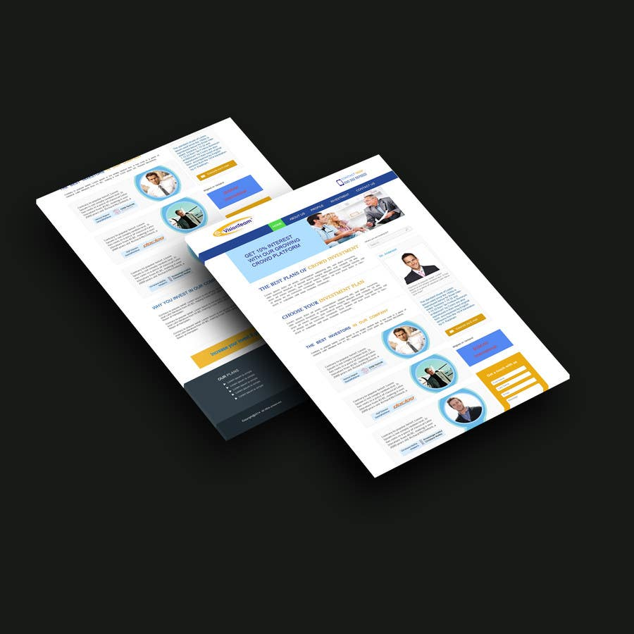 Contest Entry #31 for Creating of a landingpage