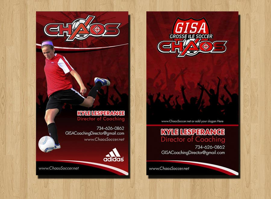 Proposition n°19 du concours (6) Business Card Designs needed for Youth Soccer Team