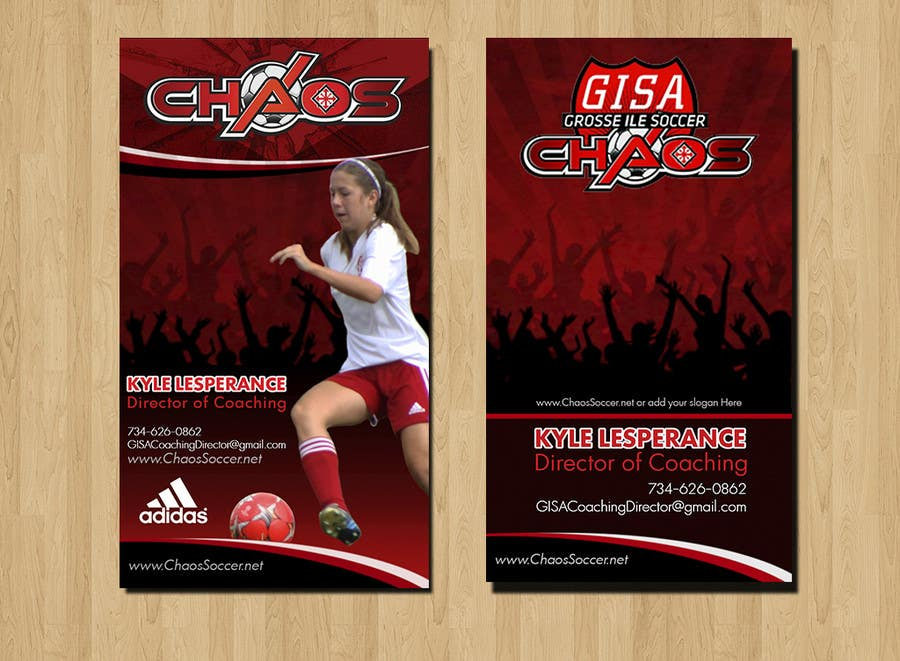 Proposition n°25 du concours (6) Business Card Designs needed for Youth Soccer Team