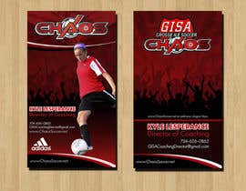 RERTHUSI tarafından (6) Business Card Designs needed for Youth Soccer Team için no 26