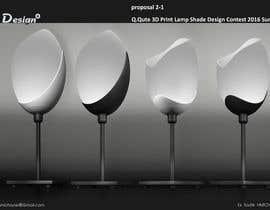 Nro 136 kilpailuun Q.Qute 3D Print Lamp Shade Design Contest 2016 Summer käyttäjältä hmichane