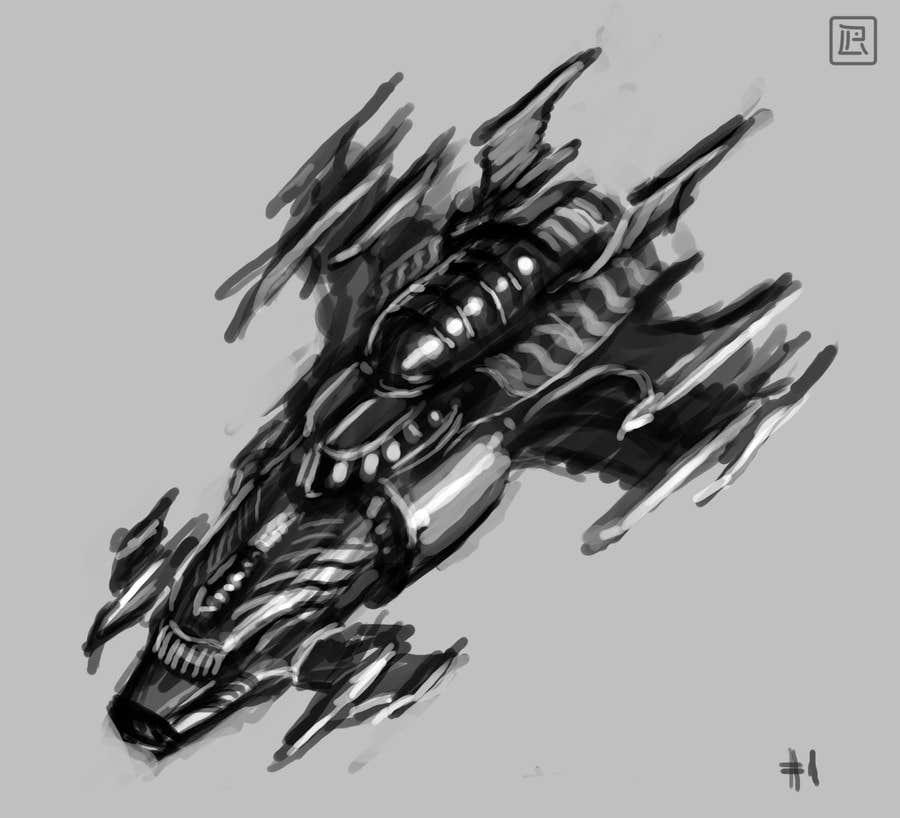 Bài tham dự cuộc thi #1 cho Illustrate Some Spaceships!