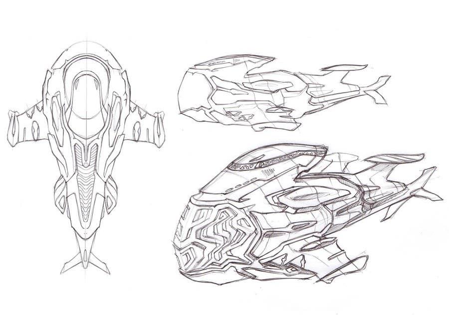 Bài tham dự cuộc thi #5 cho Illustrate Some Spaceships!