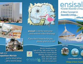 #6 for Design a Brochure for ENSISAL (trifold) by Kusmin