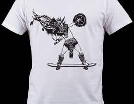 Nro 5 kilpailuun Design an Aztec Skateboard T-Shirt käyttäjältä lucianoluci657