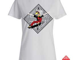 Nro 11 kilpailuun Design an Aztec Skateboard T-Shirt käyttäjältä uppercut05