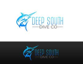 raidahkhalid15 tarafından Design a Logo incl. a fish - Deep South Dive Co. için no 36