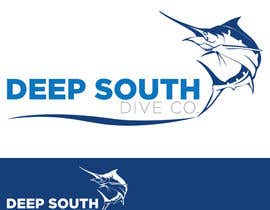 DarDerDor16 tarafından Design a Logo incl. a fish - Deep South Dive Co. için no 16