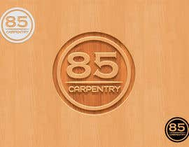 Srbenda88 tarafından Design a Logo for eighty-five carpentry için no 90