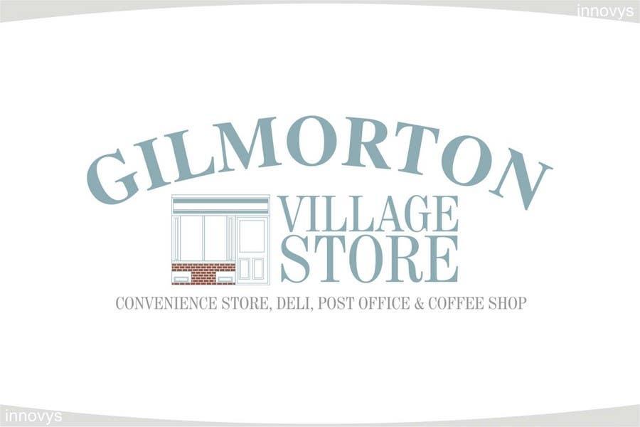 Inscrição nº                                         81                                      do Concurso para                                         Logo Design for Gilmorton Village Store