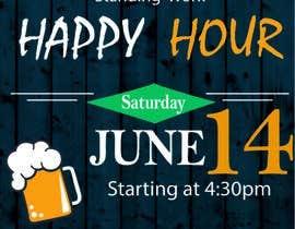 BettyCH tarafından Design a Happy Hour Flyer için no 9