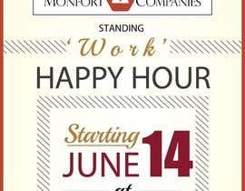 amcgabeykoon tarafından Design a Happy Hour Flyer için no 18