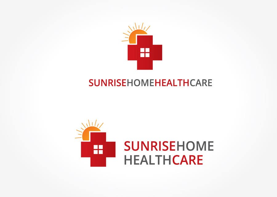 #28 for Sunrise home health care by XpertgraphicD