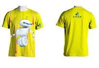 Graphic Design Kilpailutyö #36 kilpailuun Technology Camp t-shirt design set