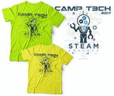 Graphic Design Kilpailutyö #38 kilpailuun Technology Camp t-shirt design set