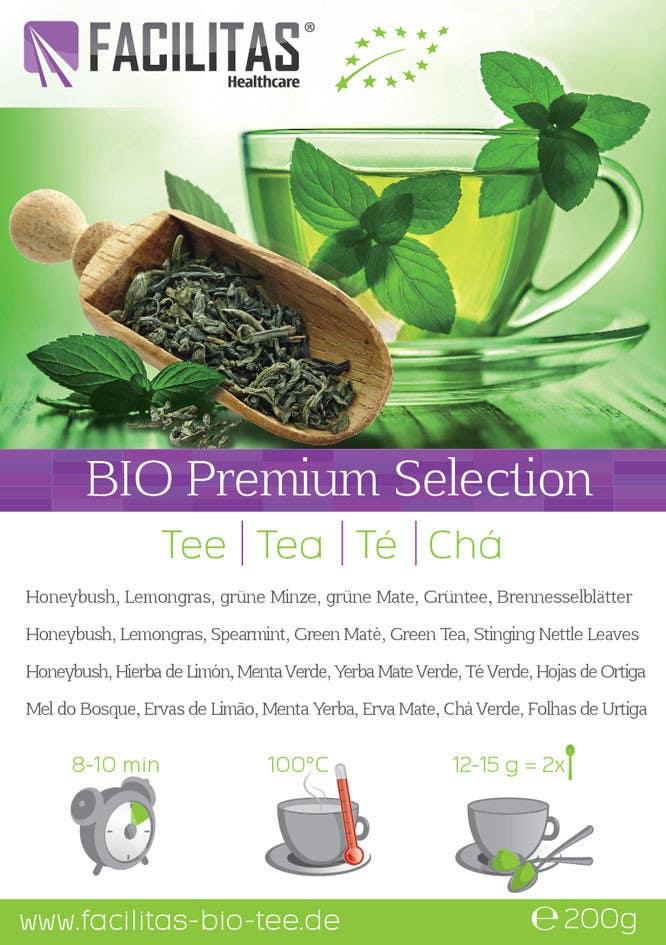 Proposition n°9 du concours Tea Label Design