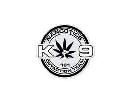 Nro 79 kilpailuun Design a Logo for Narcotics K9 käyttäjältä vasked71