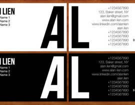 #15 for Business Card Design for Alan Lien by imzeeshan