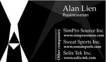 Bài tham dự #2 về Graphic Design cho cuộc thi Business Card Design for Alan Lien