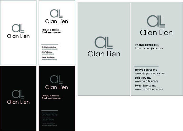 Contest Entry #6 for Business Card Design for Alan Lien