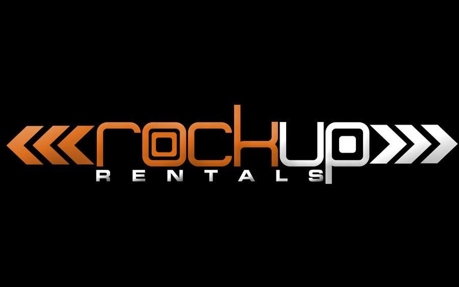 Конкурсная заявка №290 для Logo Design for RockUp Rentals.com.au