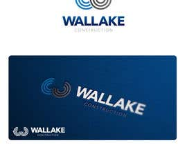 "nº 875 pour Design a Logo for a Growing construction company. ""Wallake"" par HallidayBooks"