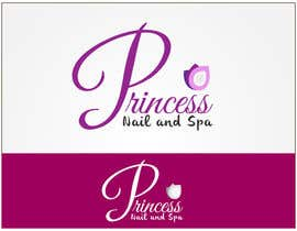 #8 untuk Design a Logo for Princess Nails and Spa - repost oleh emzbassist07