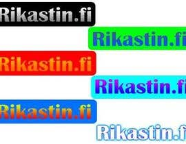 #45 for Logo Design for Rikastin.fi by agusmaulana11