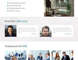 Nro 20 kilpailuun Build a simple clean basic Website using Wordpress käyttäjältä webmastersud