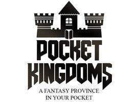 nº 24 pour Pocket Kingdoms: Online Game Logo. par kubocentik