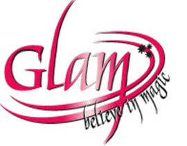 nº 45 pour Logo Design for Glam Cosmetics Tagline Believe in Magic par Paovikez