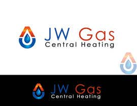 #152 untuk Design a Logo for www.jwgascentralheating.co.uk oleh titif67