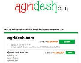 Nro 127 kilpailuun Find a .com domain name for my agri website käyttäjältä Wordsourced