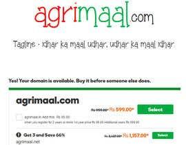 Nro 130 kilpailuun Find a .com domain name for my agri website käyttäjältä Wordsourced