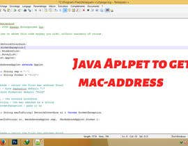 #4 for Java Aplpet to get mac-address af fo2shawy001