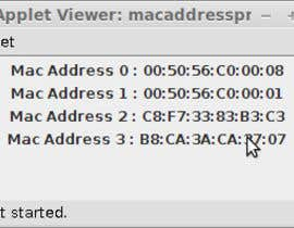 #2 for Java Aplpet to get mac-address af zsyxcbibi