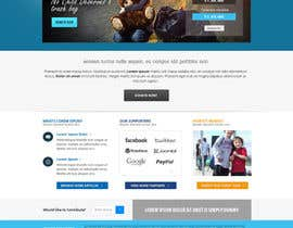 #10 for Design a Website template for fundraising page by Pavithranmm