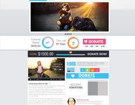 nº 4 pour Design a Website template for fundraising page par mediatronics
