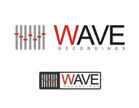 nº 77 pour Logo for Wave Recordings par xahe36vw