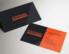#6 for Design some Business Cards for my company, color Orange/Black af ezesol