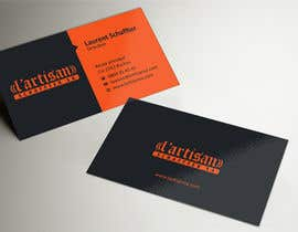 ezesol tarafından Design some Business Cards for my company, color Orange/Black için no 8