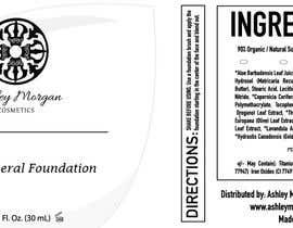 Nro 24 kilpailuun Create a Cosmetic Label for my Liquid Mineral Foundation käyttäjältä idrismkhalil