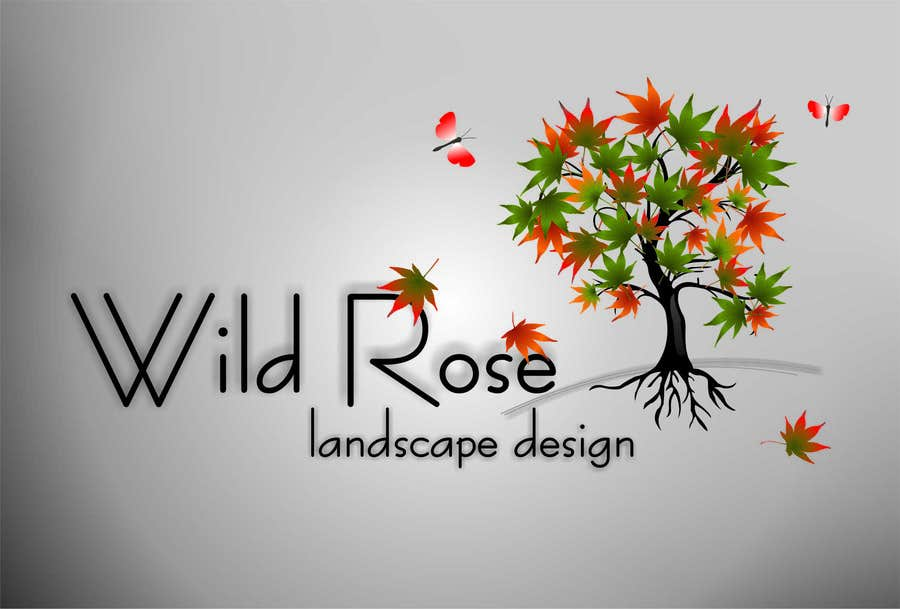 Contest Entry #7 for WildRose Landscaping Logo Design Contest