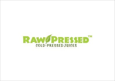 #6 para Design a Logo for Raw Pressed por eltorozzz