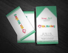 #20 untuk Design Business Cards for Mr. Monkey oleh tahira11