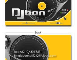#20 cho Logo and business card for DJ bởi shaundewar82